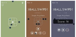 Ball Swipe oyunu