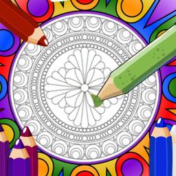 Mandala Boyama Kitabı uygulaması