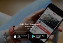 hüpp mobil uygulaması